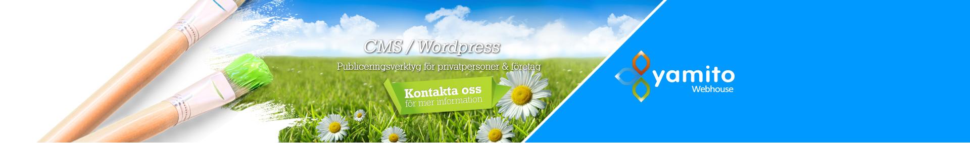 CMS / Wordpress, Enkel innehållshantering för din hemsida!